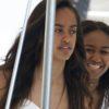 Sasha Obama and Malia