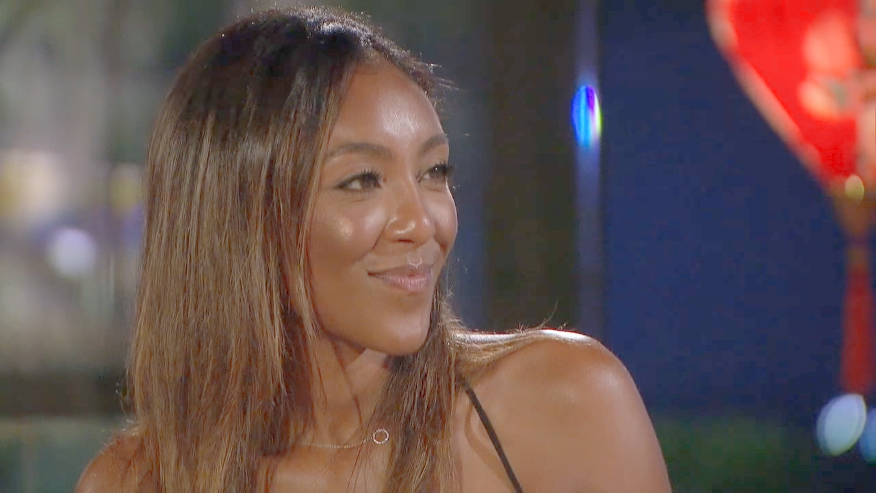 Tayshia Adams on The Bachelor