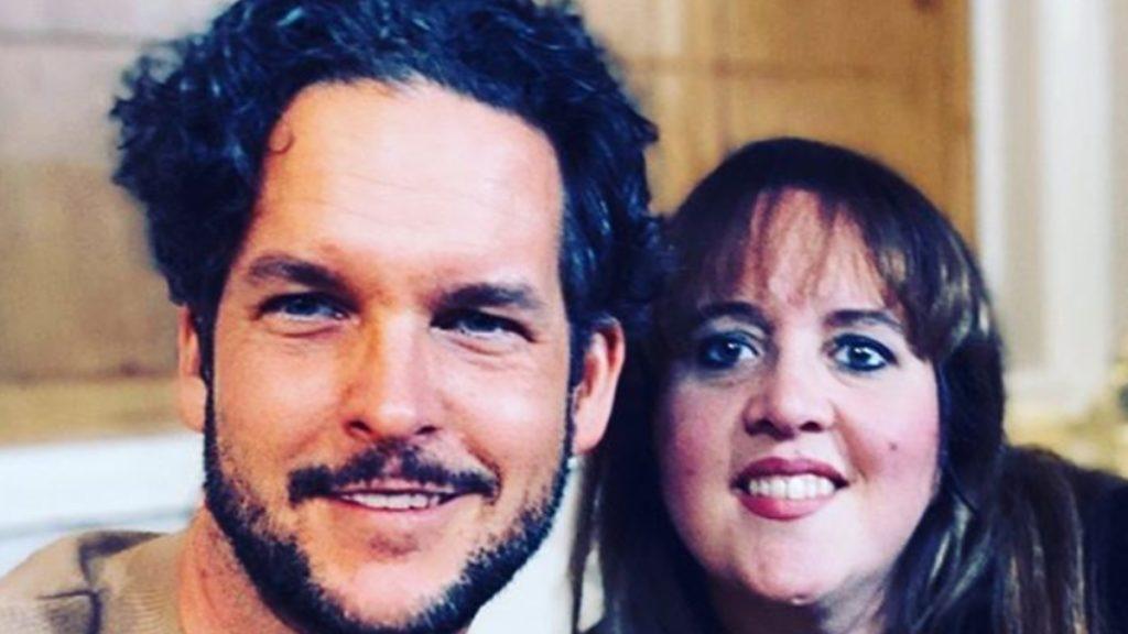 Tom Brooks and his sister Emma