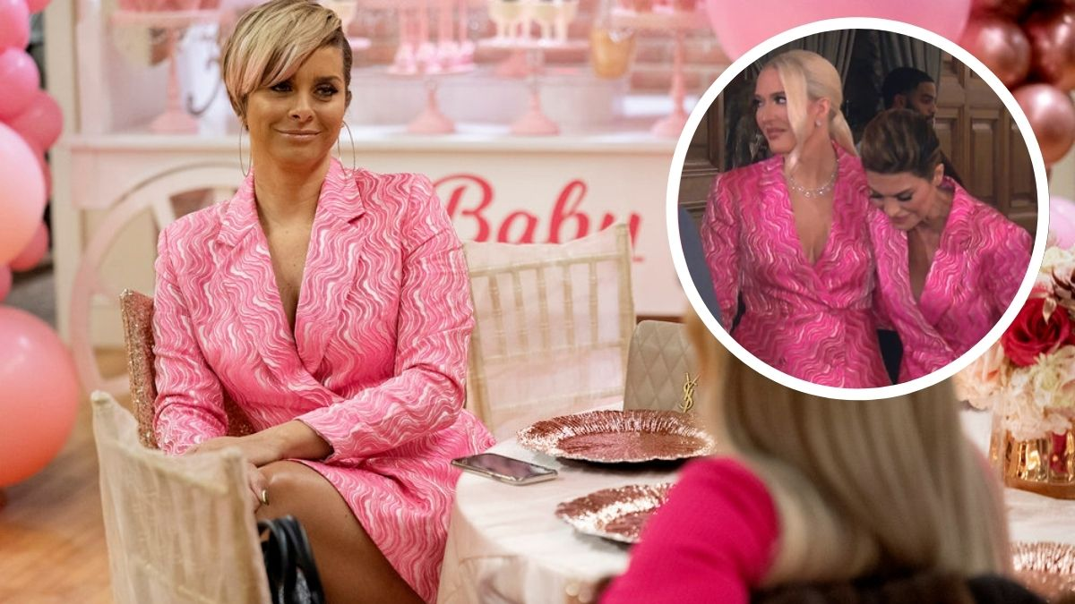 Robyn DIxon shares photo donning same dress as Erika Jayne and Lisa Rinna