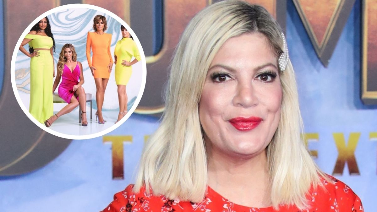 Tori Spelling is allegedly joining RHOBH according to recent rumors