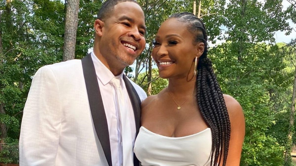 Bravo cameras did not capture Cynthia Bailey and Mike Hill's wedding