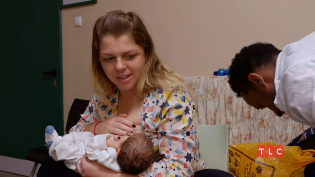 Ariela Biniyam and the baby on 90 Day Fiance The Other Way