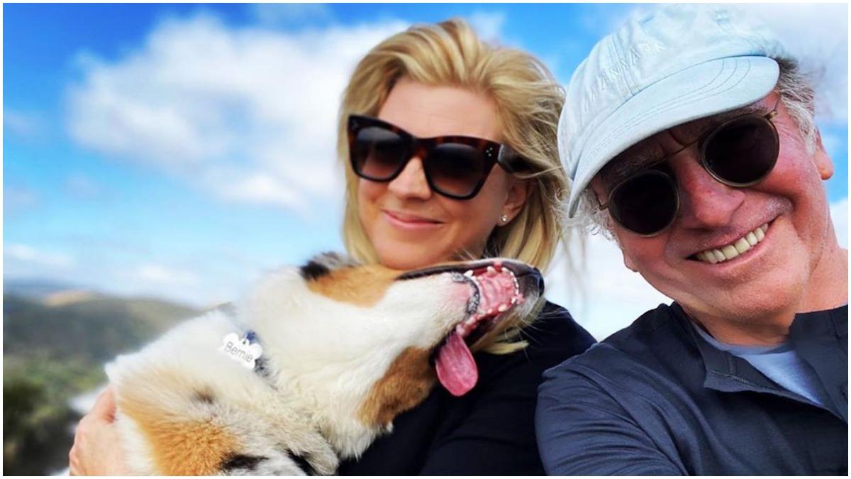 Newlyweds Ashley Underwood and Larry David enjoy some together time