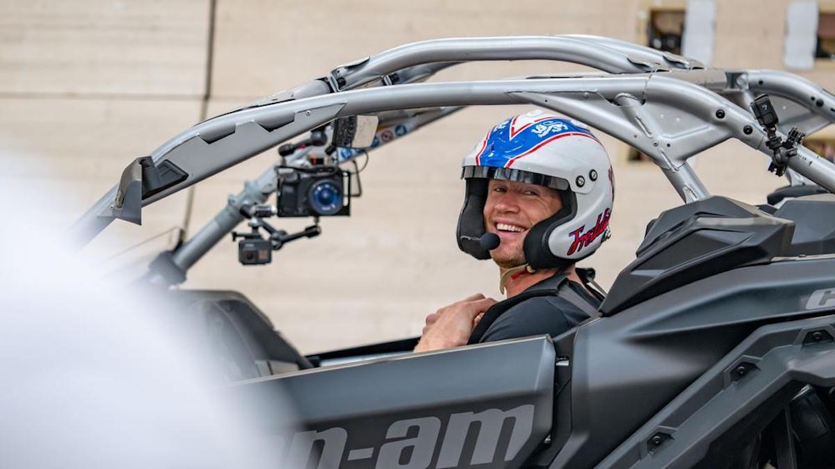 Freddie Flintoff on the new season of Top Gear