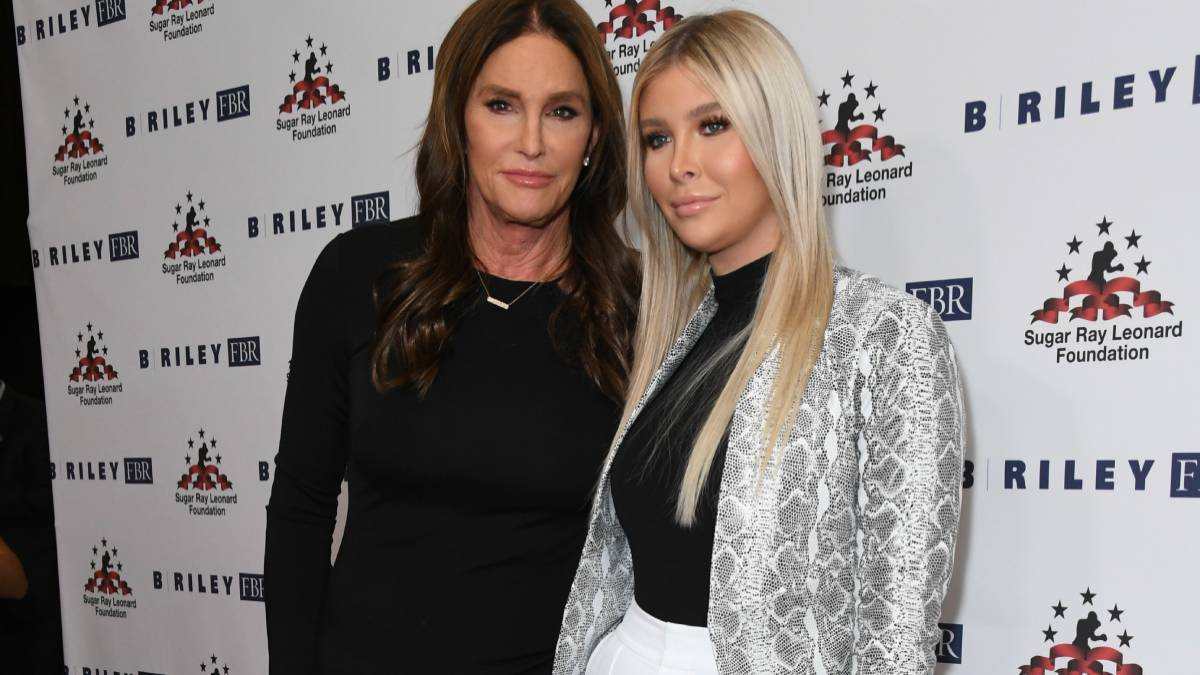 "Caitlyn Jenner, Sophia Hutchins. The 10th Annual ""Big FIghters, Big Cause"" Charity Boxing Event held at Beverly Hilton Hotel."