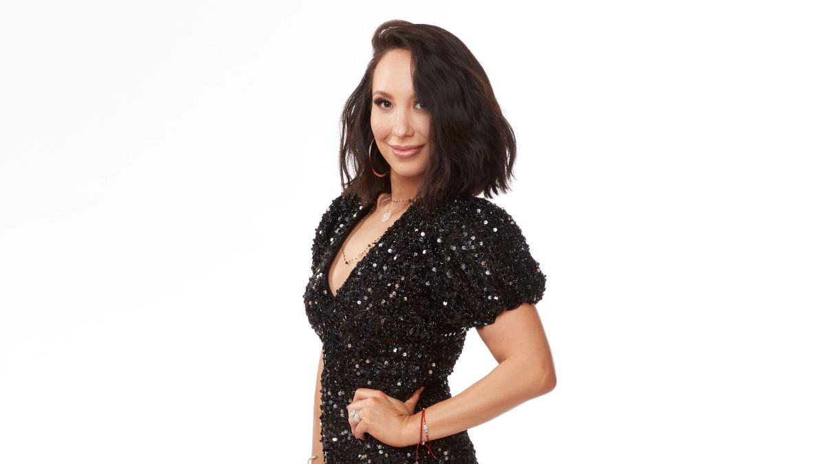 Cheryl Burke on Dancing with the Stars