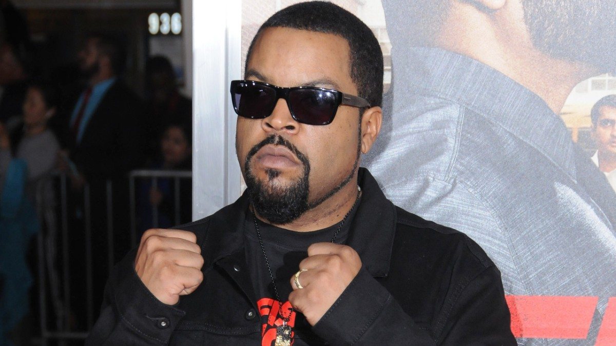 Ice Cube on the red carpet