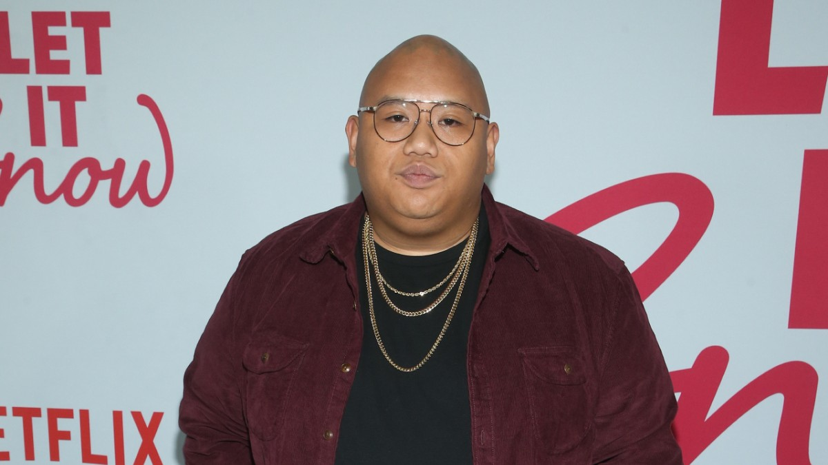 Jacob Batalon on the red carpet