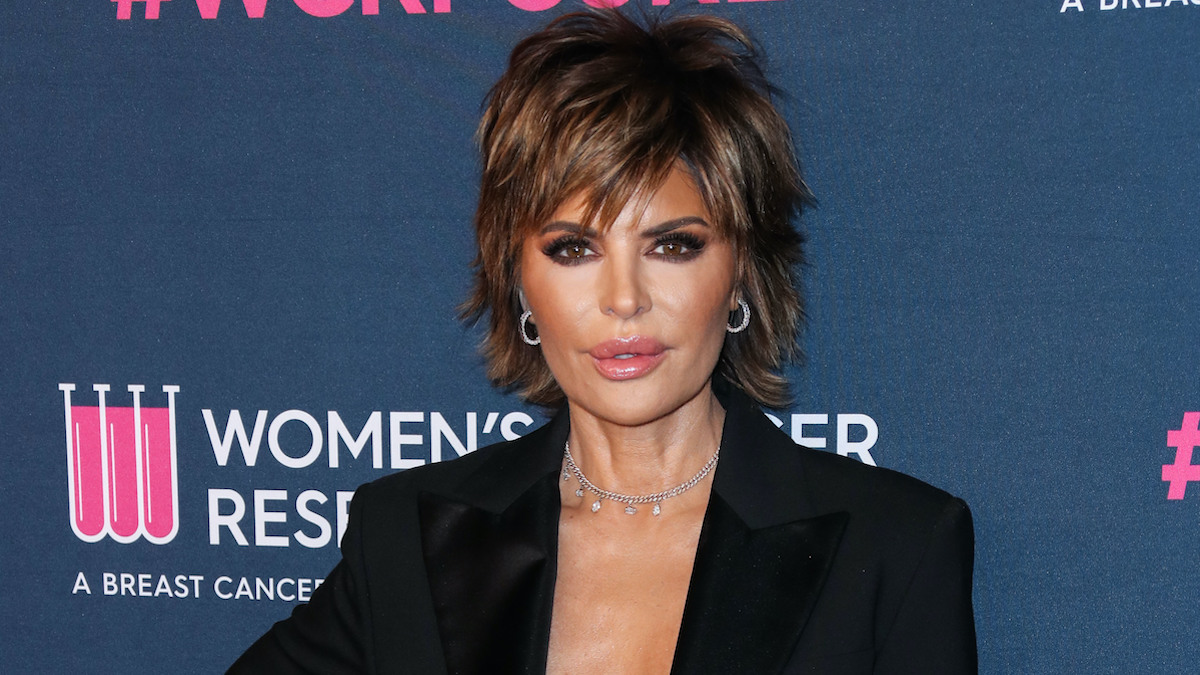 lisa rinna announces rinna beauty partnership with the trevor project