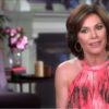 RHONY star, Luann De Lesseps takes to the Watch What Happens Live stage.