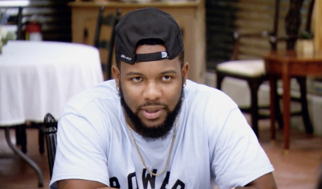 Miles opens up about being a black man in America in emotional moment on Married at First Sight