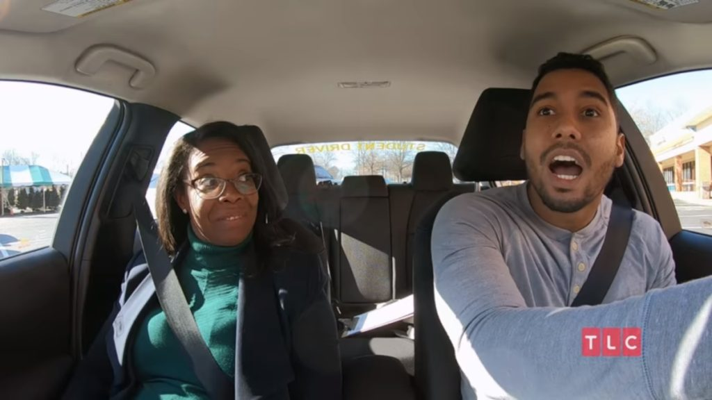 pedro jimeno learns to drive
