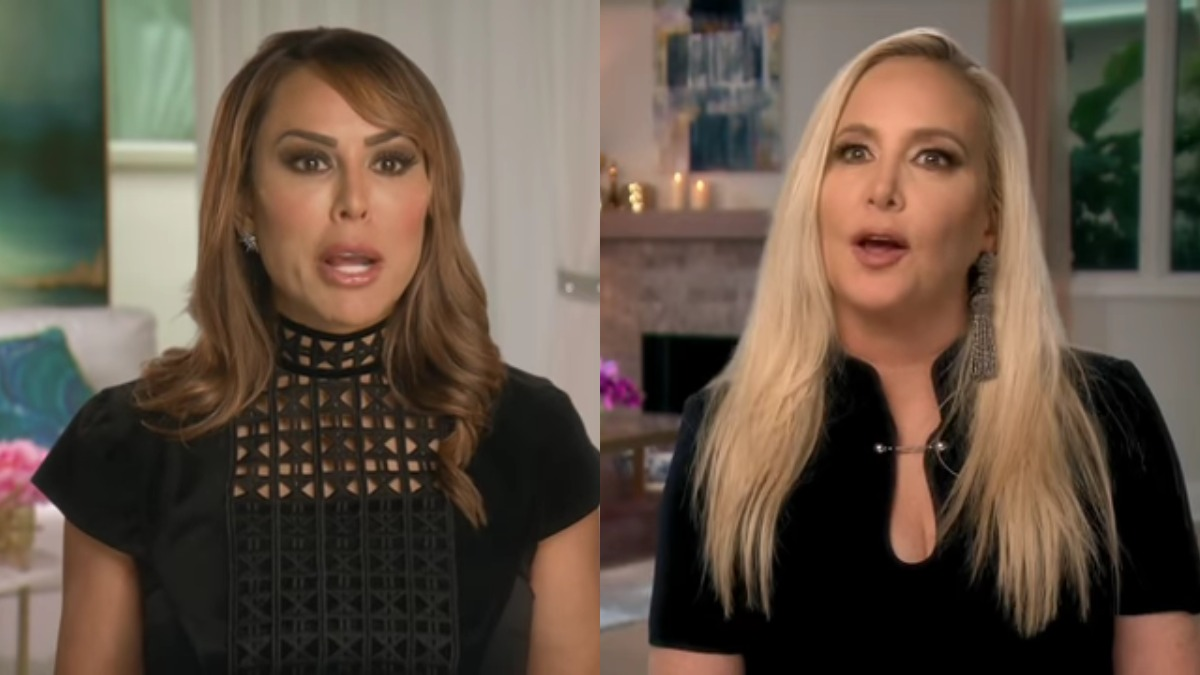 Kelly Dodd and Shannon Beador RHOC confessionals.