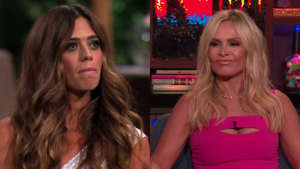 Lydia and Tamra from RHOC.