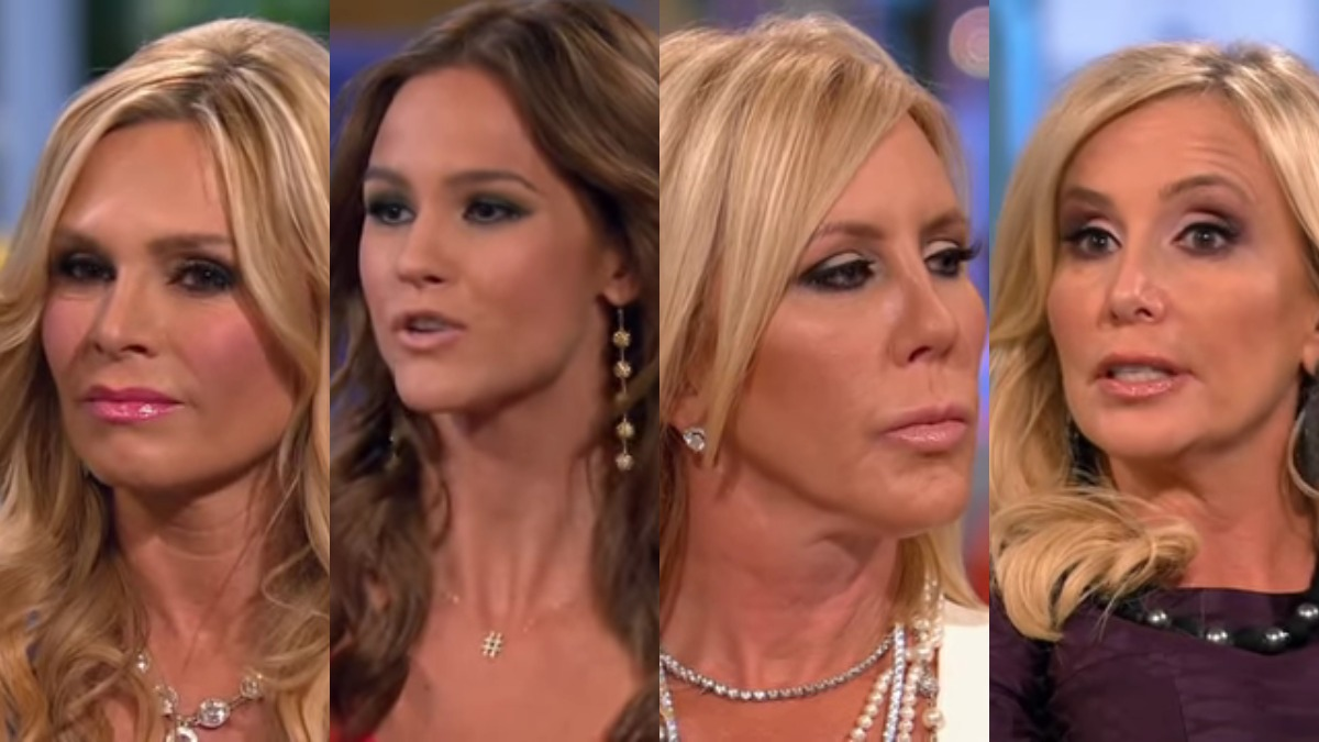 Tamra Judge, Meghan King Edmonds, Vicki Gunvalson, and Shannon Beador.