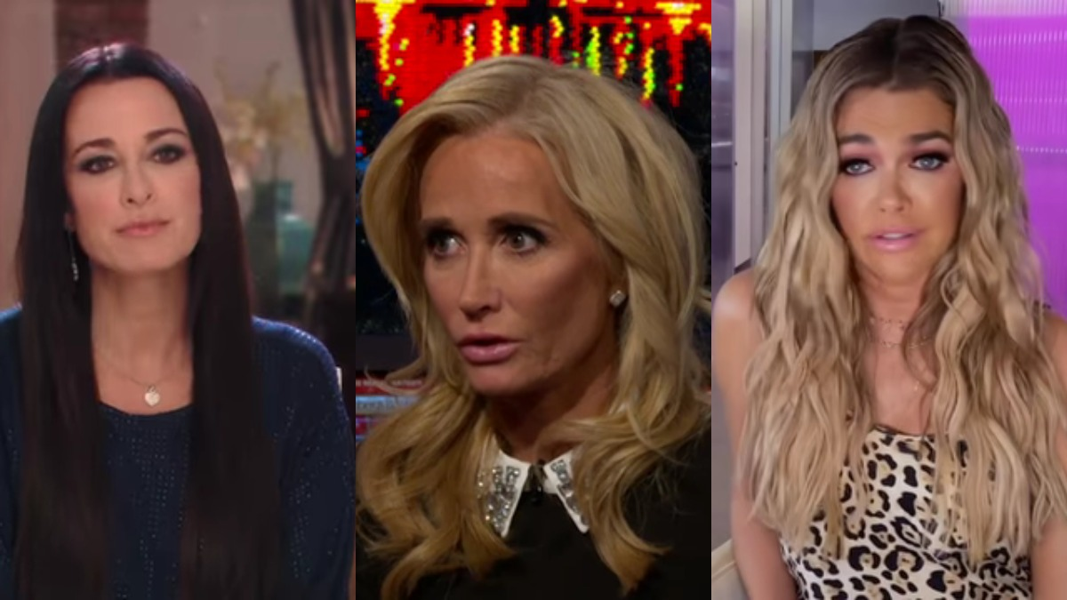 Kyle Richards, Kim Richards, and Denise Richards.