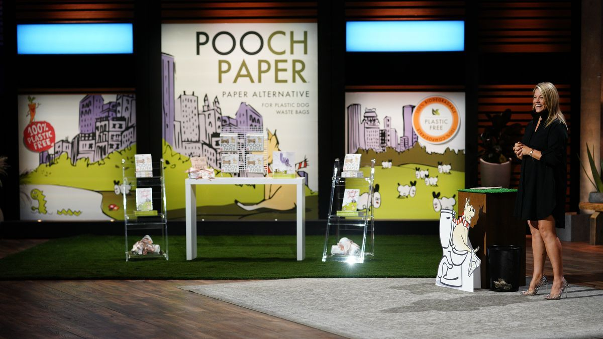 Pooch Paper is one of Friday's Shark Tank discoveries