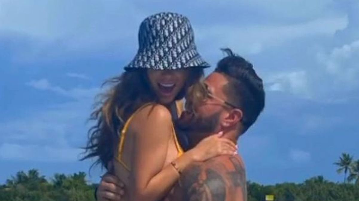 ronnie ortiz-magro and saffire matos together instagram photo