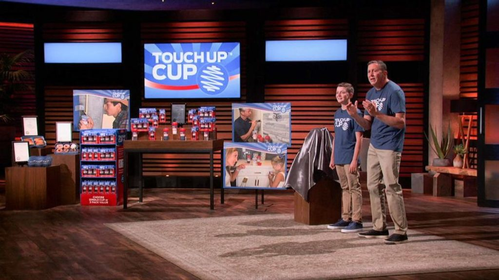 Shark Tank presents the Touchup Cup