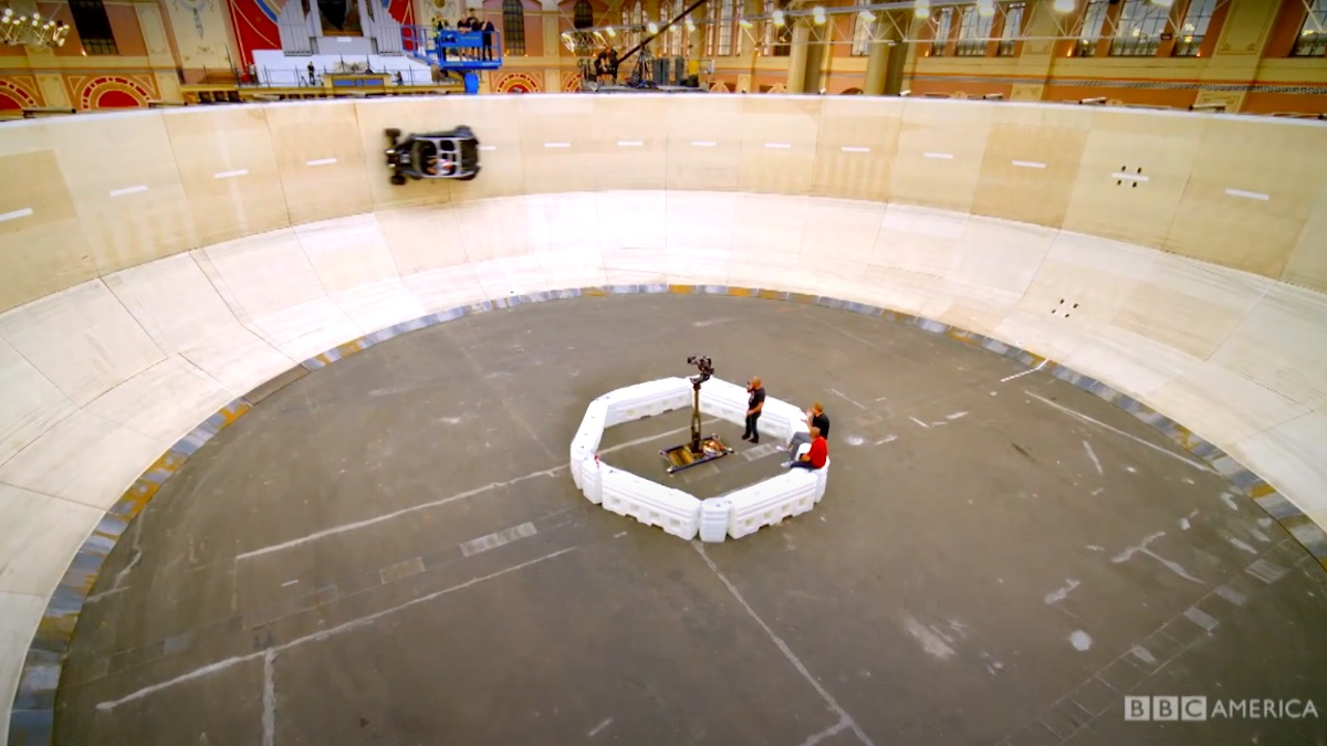 The Wall of Death on Top Gear