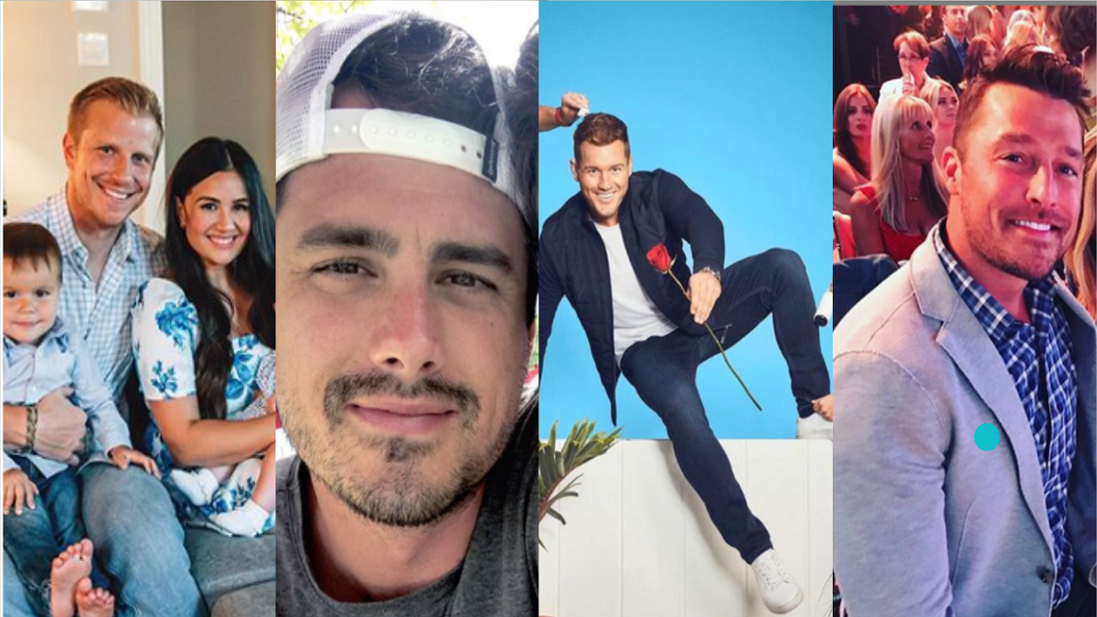 Four of the past leads of The Bachelor