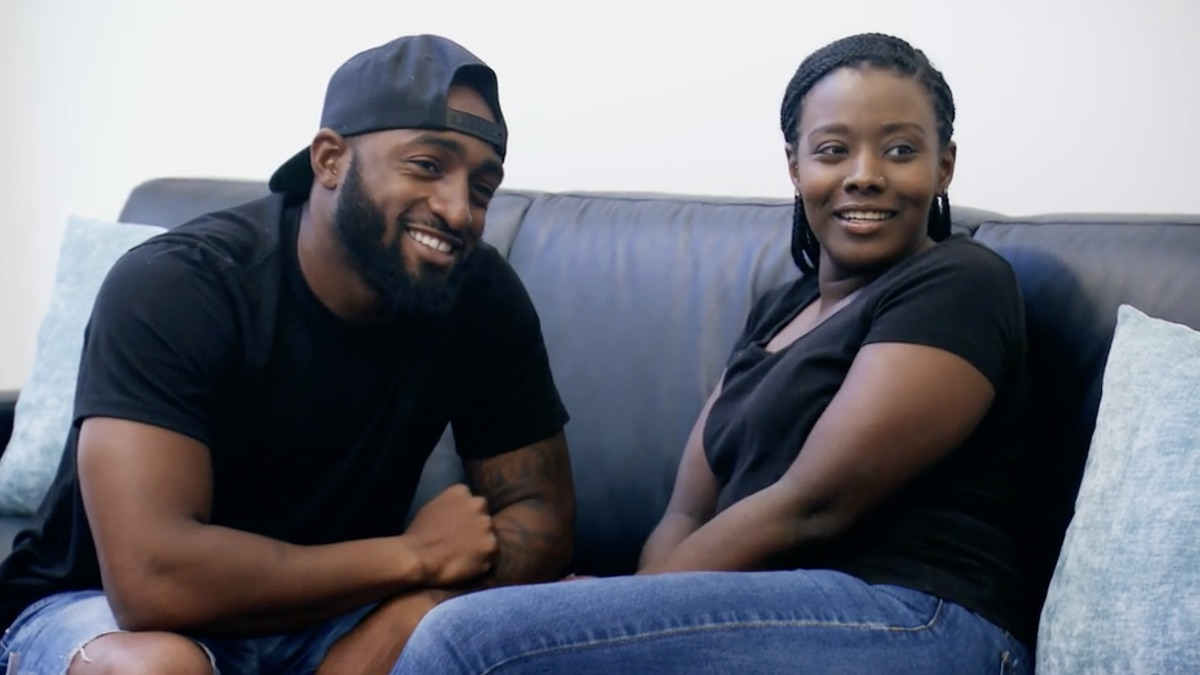 Amani and Woody from Married at First Sight