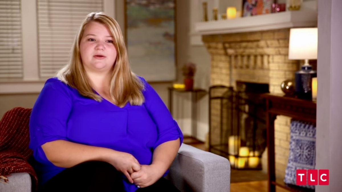 Nicole on 90 Day Fiance. Pic credit: TLC