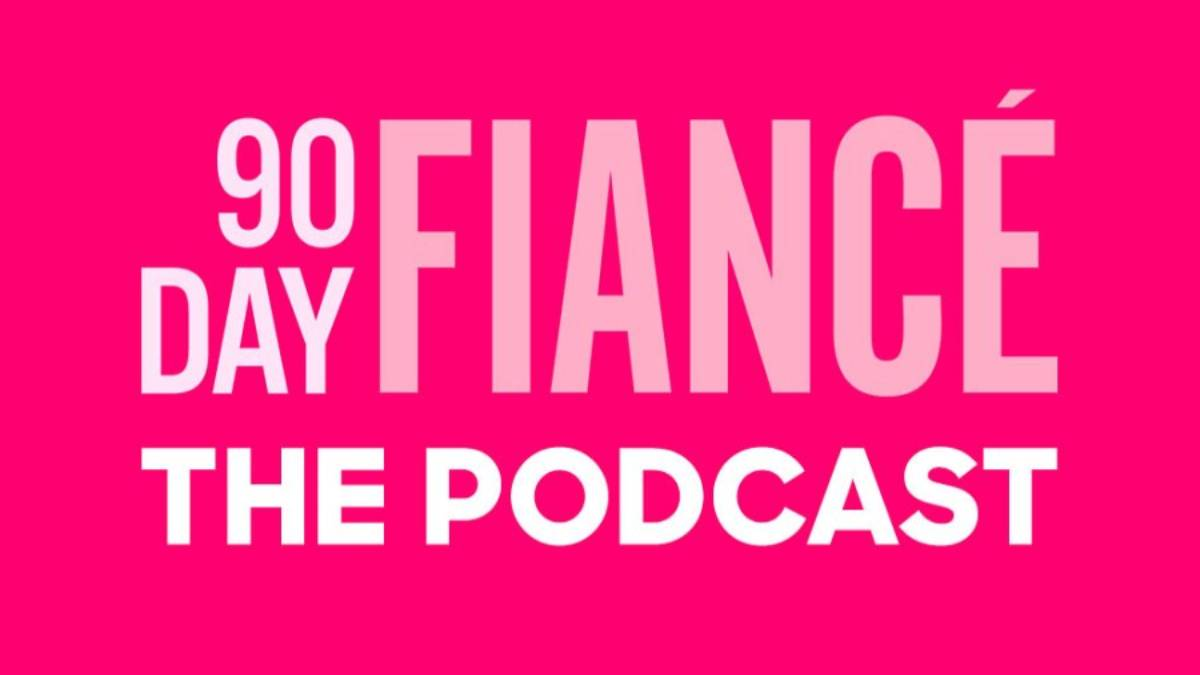 90 Day Fiance: The Podcast's logo