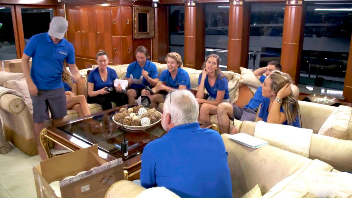 Below Deck Season 8 had a first in the premiere.