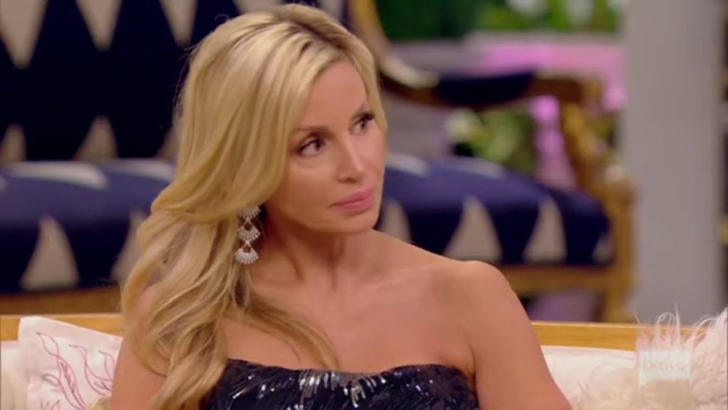 Camille Grammer at a RHOBH reunion.