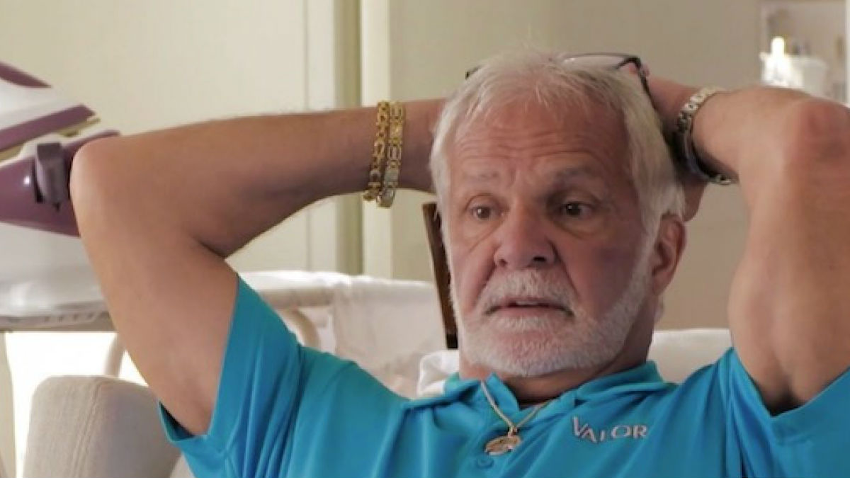 Captain Lee Rosbach slams hater calling him a captain only for the Bravo show.