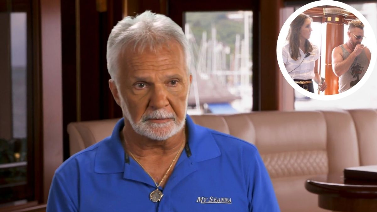 Below Deck charter guest Charley had to help out stews on Below Deck and Captain Lee has thoughts.