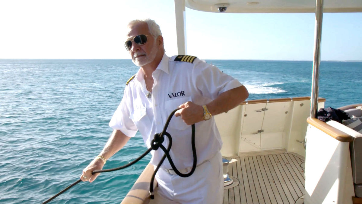Below Deck's Captain Lee shares docking challenge on Bravo show was real.