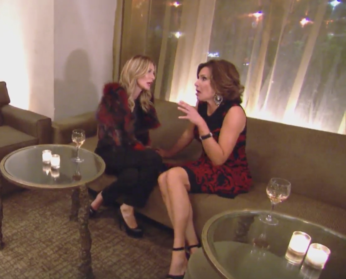 Carol and Luann talk speak after fighting.