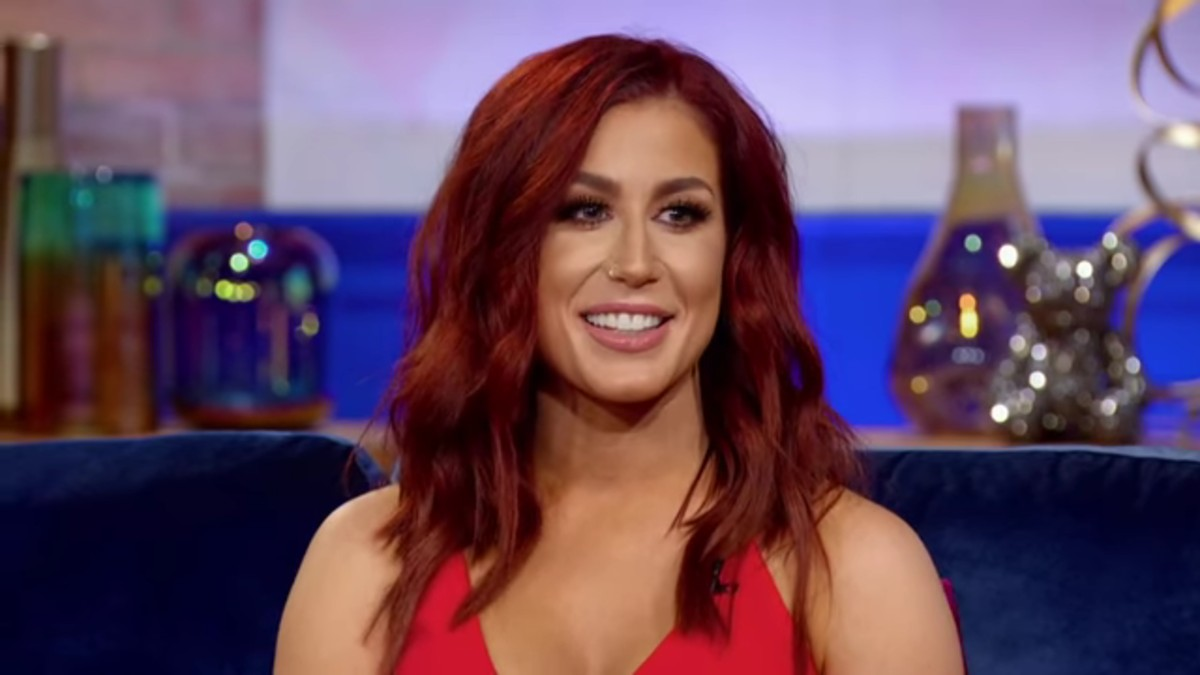 Chelsea Houska at Teen Mom 2 reunion.