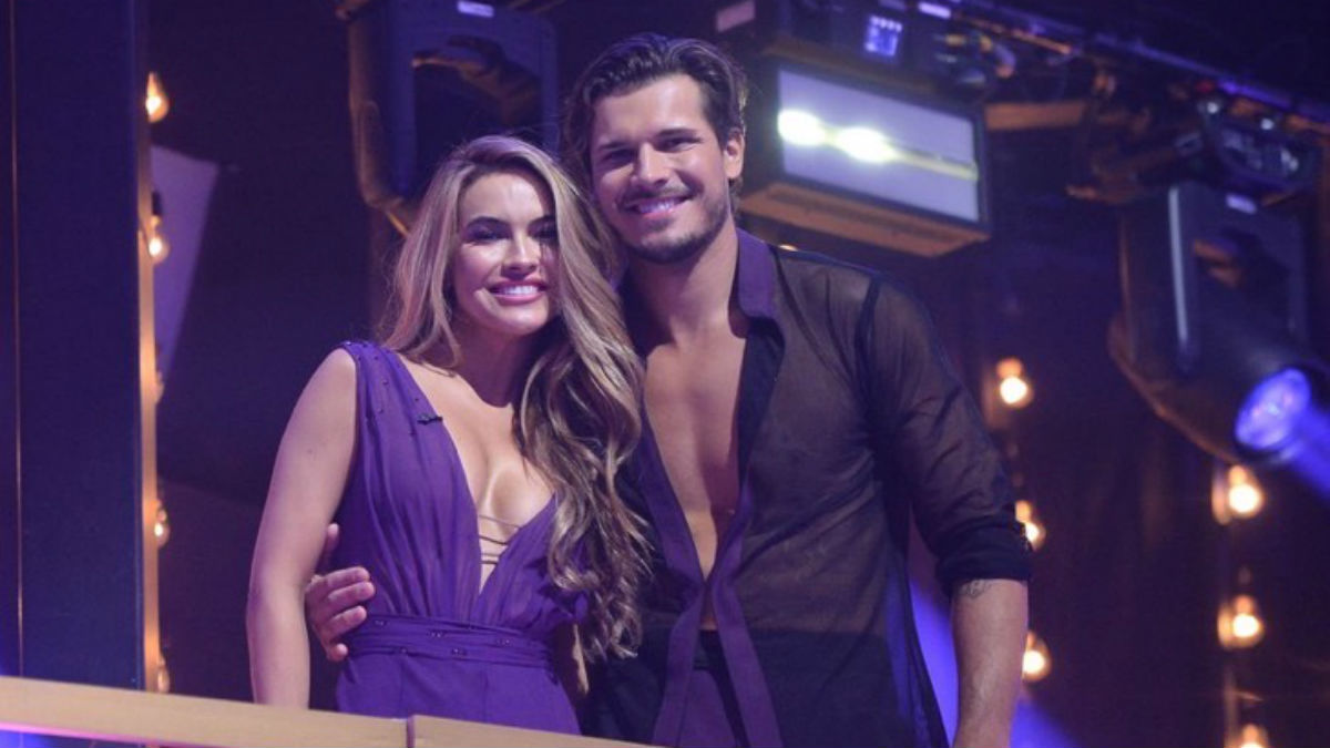 Selling Sunset star Chrishell Stause is setting record straight on relationship with DWTS pro Gleb Savchenko .