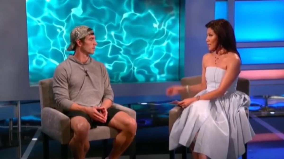 Cody Nickson and Julie Chen