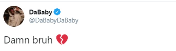 DaBaby posts to Twitter
