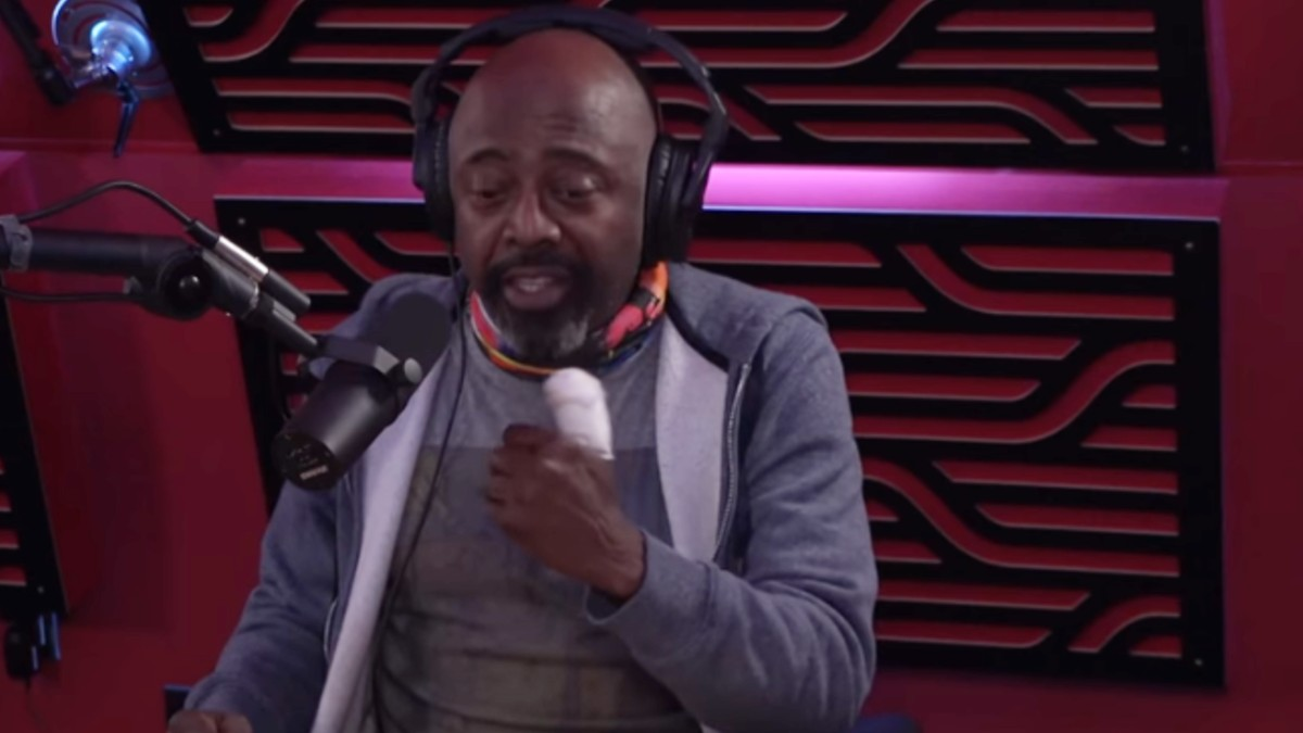 Donnell Rawlings's on Seth Rogen's podcast