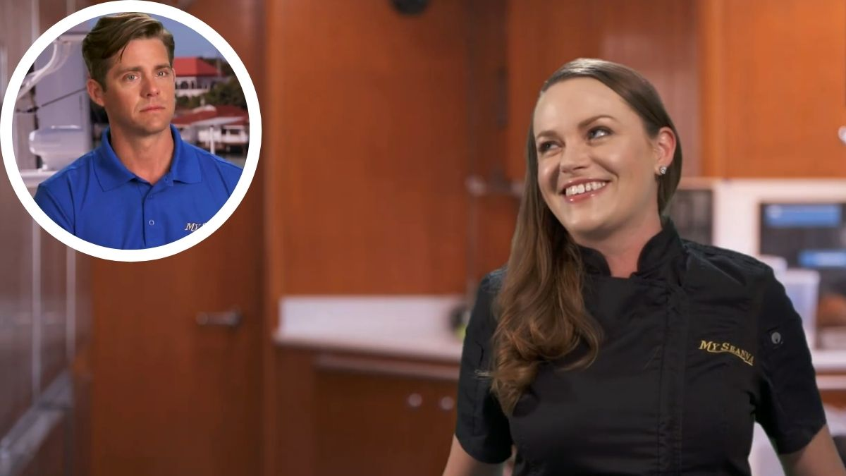 Rachel Hargrove promises drama with Eddie Lucas on Below Deck Season 8.