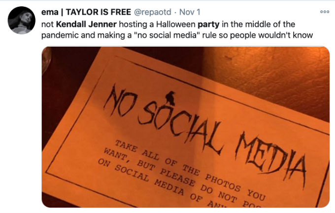 Fans laugh at Kendall Jenner no social media rule.