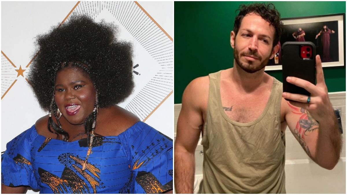 Gabby Sidibe and Brandon Frankel