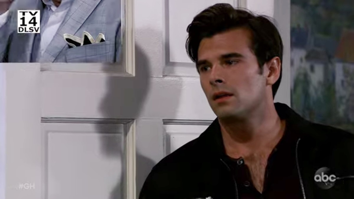 Josh Swickard as Chase on General Hospital.