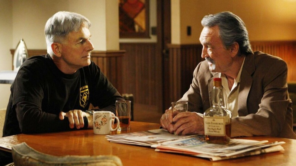 Gibbs And Franks NCIS