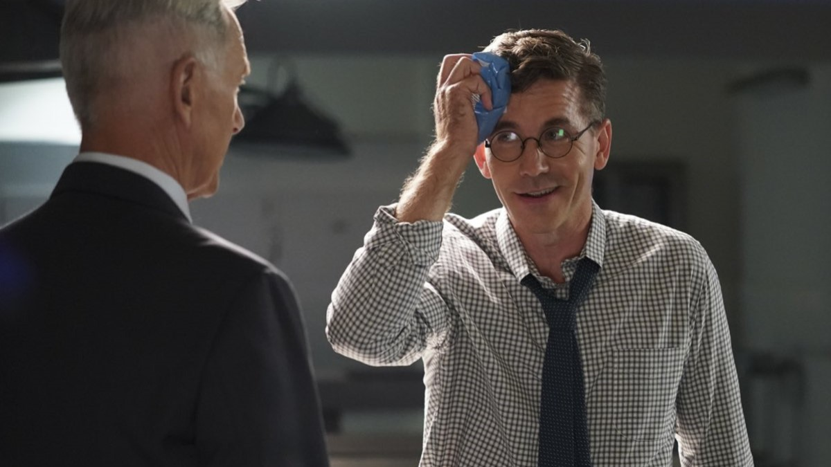 Gibbs And Jimmy On NCIS
