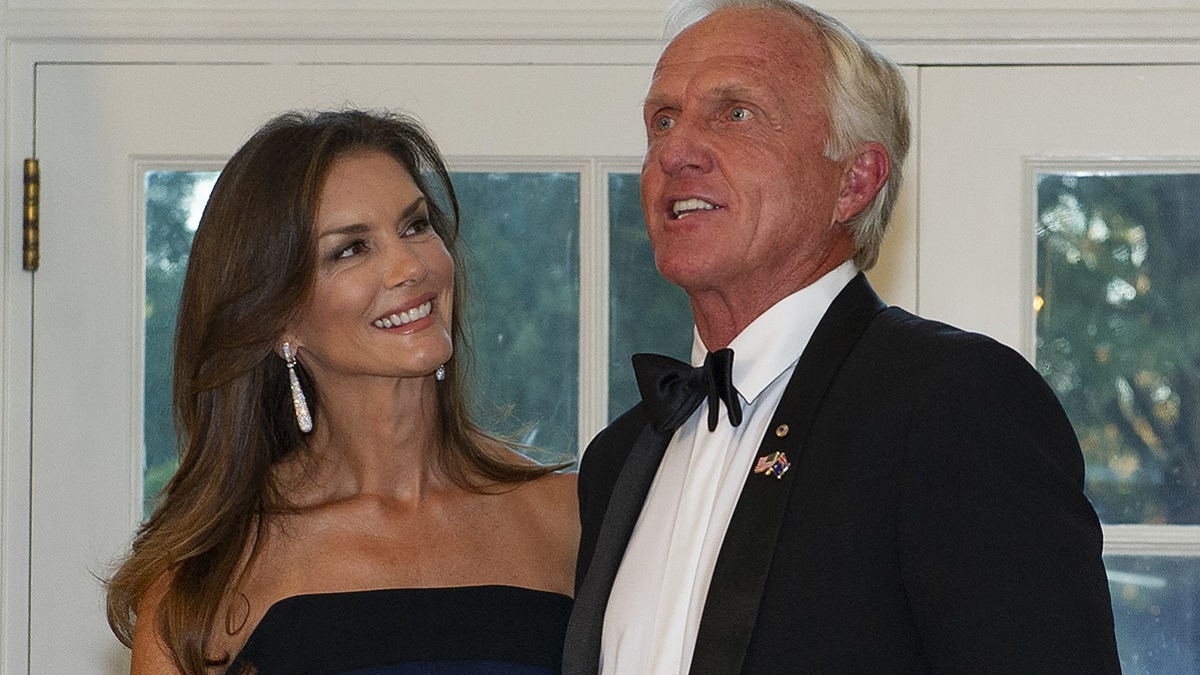 Greg Norman and wife Kirsten