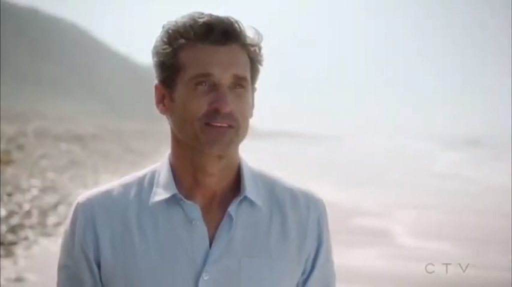Derek shows up for Meredith on Grey's Anatomy