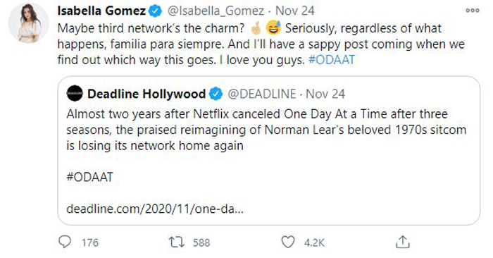 I Gomez tweet