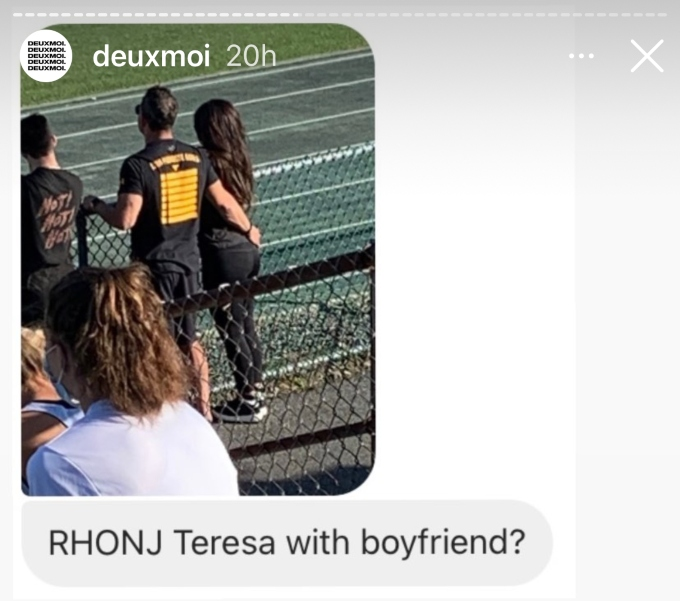 Teresa Guidice allegedly photoed with new beau